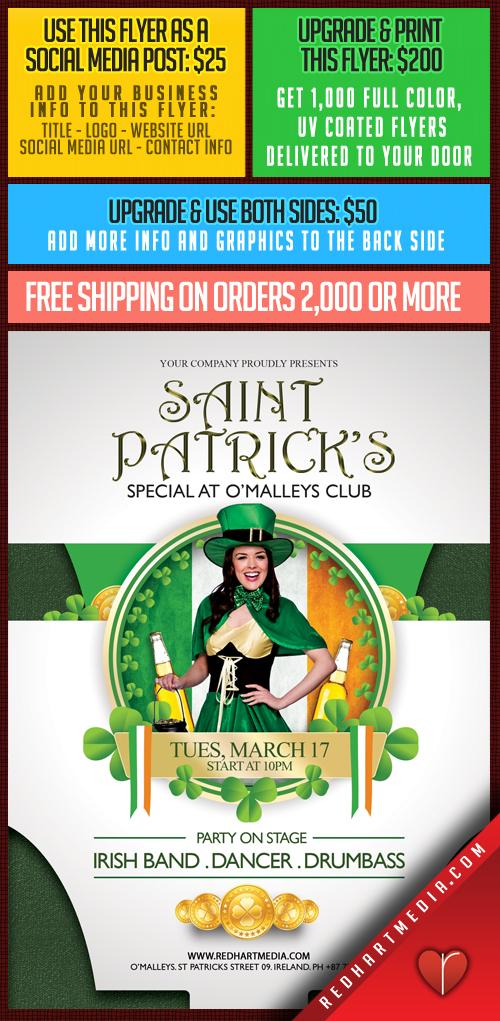 15 St-Patricks Template