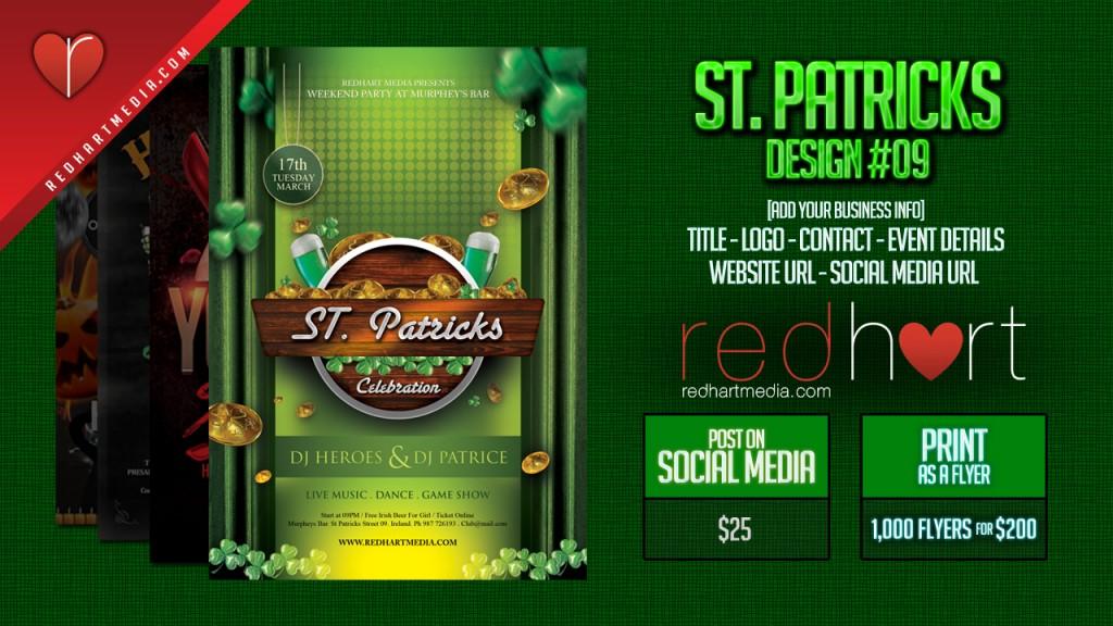 St-Patricks Template #09