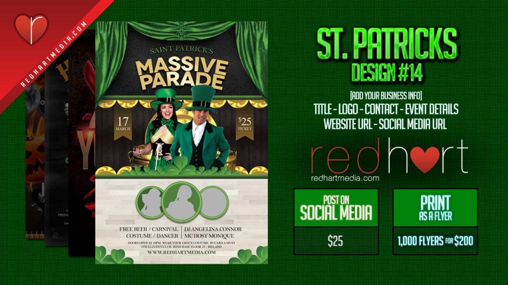 St-Patricks Template #14