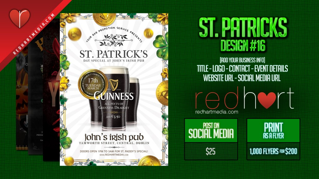 St-Patricks Template #16