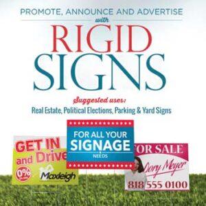 Rigid Signs